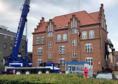 KG Mobilkraner - Hejs af ventilation på Føtex i Vejle 26