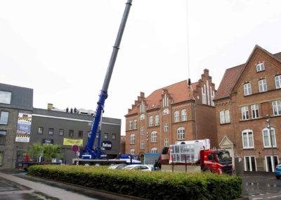 KG Mobilkraner - Hejs af ventilation på Føtex i Vejle 2