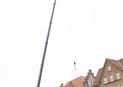 KG Mobilkraner - Hejs af ventilation på Føtex i Vejle 5