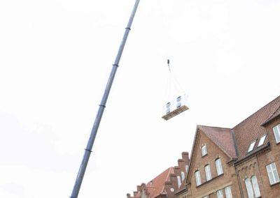 KG Mobilkraner - Hejs af ventilation på Føtex i Vejle 8
