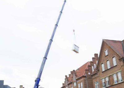 KG Mobilkraner - Hejs af ventilation på Føtex i Vejle 10