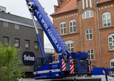 KG Mobilkraner - Hejs af ventilation på Føtex i Vejle 16