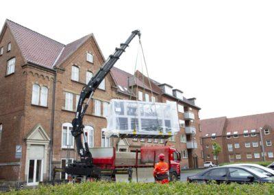 KG Mobilkraner - Hejs af ventilation på Føtex i Vejle 24
