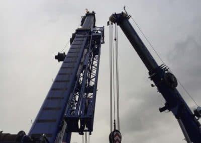 KG Mobilkraner flytter 90 tons boremaskine_0002
