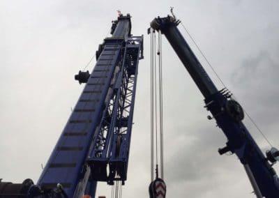 KG Mobilkraner flytter 90 tons boremaskine_0003
