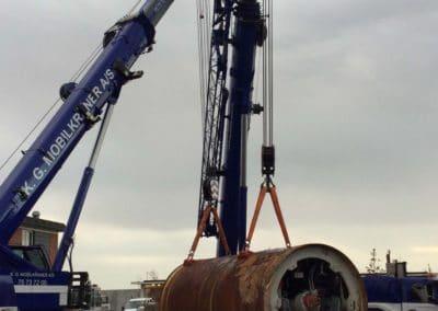 KG Mobilkraner flytter 90 tons boremaskine_0006