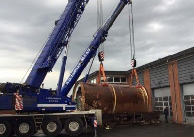 KG Mobilkraner flytter 90 tons boremaskine_0013