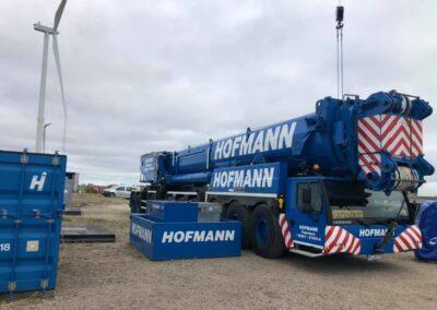 KG Mobilkraner samler Hofmann 750 tons mobilkran 1