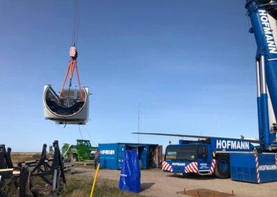 KG Mobilkraner samler Hofmann 750 tons mobilkran 3