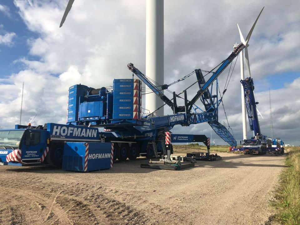 KG Mobilkraner samler Hofmann 750 tons mobilkran 8