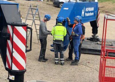 KG Mobilkraner samler Hofmann 750 tons mobilkran 12