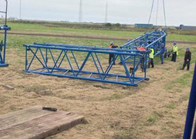 KG Mobilkraner samler Hofmann 750 tons mobilkran 16