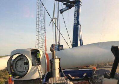 KG Mobilkraner samler Hofmann 750 tons mobilkran 17