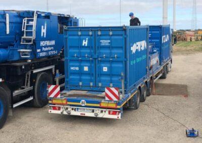 KG Mobilkraner samler Hofmann 750 tons mobilkran 18