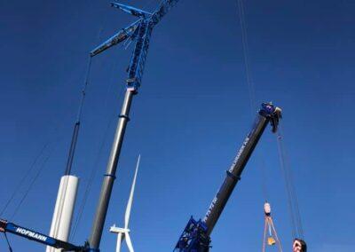 KG Mobilkraner samler Hofmann 750 tons mobilkran 19