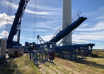 KG Mobilkraner samler Hofmann 750 tons mobilkran 20