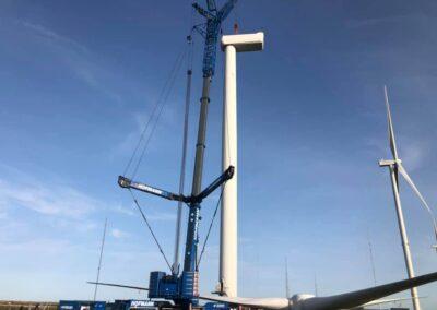 KG Mobilkraner samler Hofmann 750 tons mobilkran 21