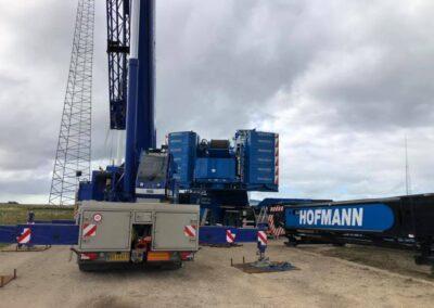 KG Mobilkraner samler Hofmann 750 tons mobilkran 22