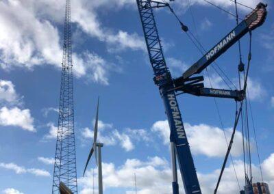 KG Mobilkraner samler Hofmann 750 tons mobilkran 26