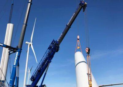 KG Mobilkraner samler Hofmann 750 tons mobilkran 30