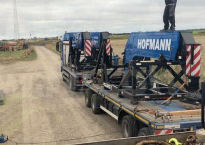 KG Mobilkraner samler Hofmann 750 tons mobilkran 35