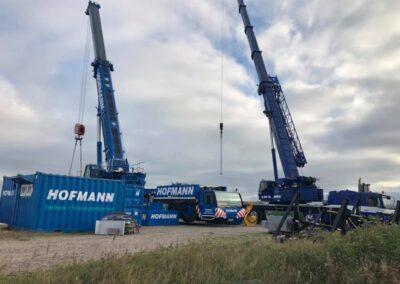 KG Mobilkraner samler Hofmann 750 tons mobilkran 37