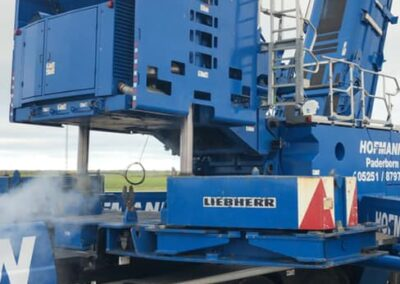 KG Mobilkraner samler Hofmann 750 tons mobilkran 38