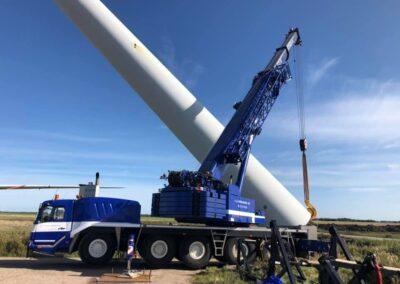 KG Mobilkraner samler Hofmann 750 tons mobilkran 39