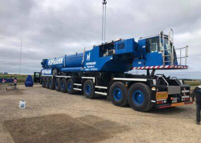 KG Mobilkraner samler Hofmann 750 tons mobilkran 40