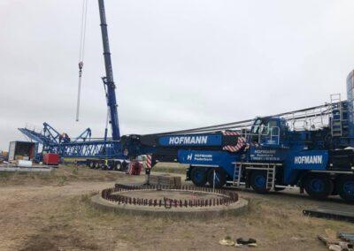 KG Mobilkraner samler Hofmann 750 tons mobilkran 41