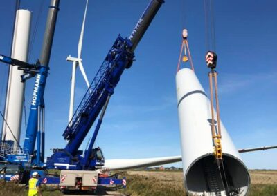 KG Mobilkraner samler Hofmann 750 tons mobilkran 42