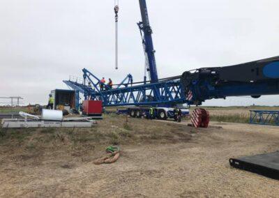 KG Mobilkraner samler Hofmann 750 tons mobilkran 44