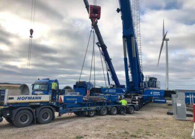 KG Mobilkraner samler Hofmann 750 tons mobilkran 49