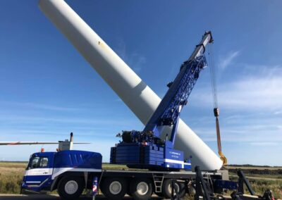 KG Mobilkraner samler Hofmann 750 tons mobilkran 51
