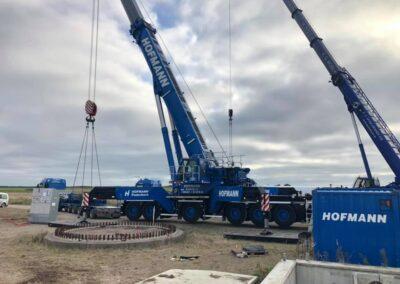 KG Mobilkraner samler Hofmann 750 tons mobilkran 53