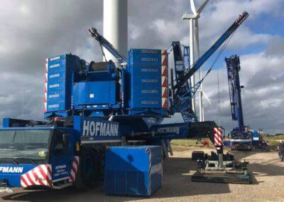 KG Mobilkraner samler Hofmann 750 tons mobilkran 54