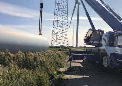 KG Mobilkraner samler Hofmann 750 tons mobilkran 55