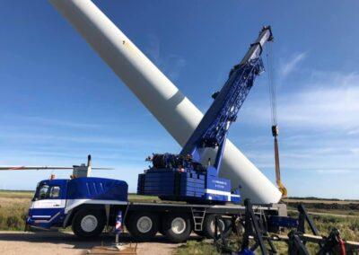 KG Mobilkraner samler Hofmann 750 tons mobilkran 60